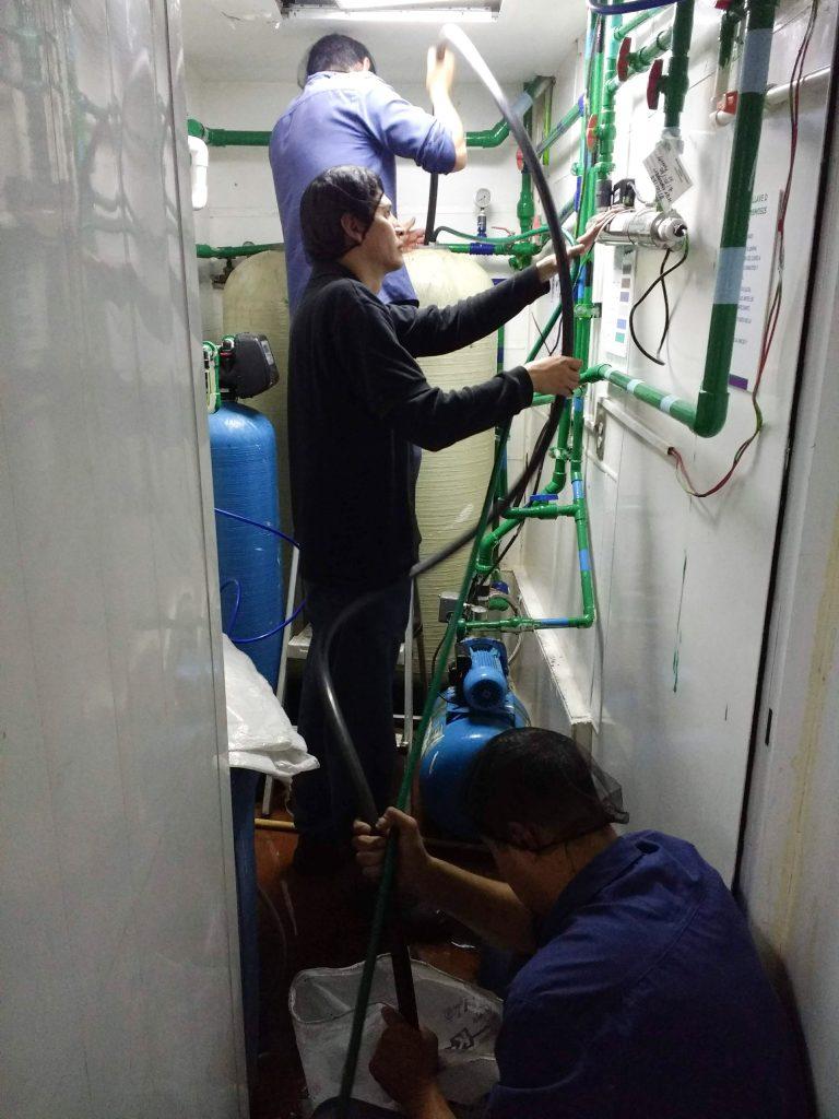 Mantenimiento a plantas Mantenimiento a plantas purificadoras y purificadoras